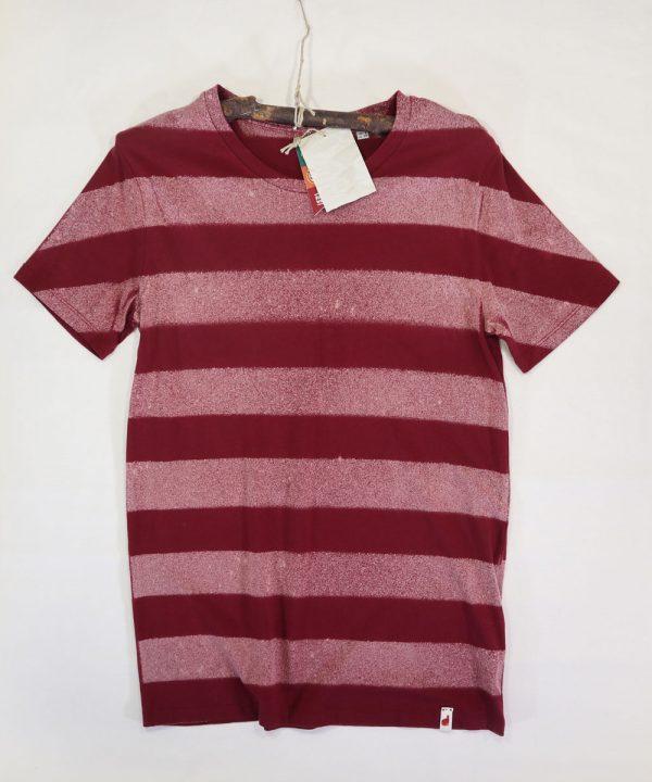 Stripes model organic cotton tshirt