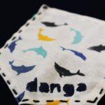 Danga Dolphins pocket organic cotton t-shirt